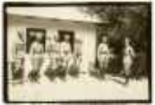 Arcyksiążę Albrecht z oficerami, 13 VIII 1917