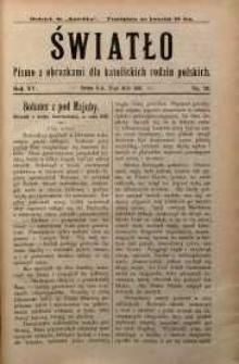 Światło, 1901, R. 15, nr 20