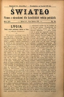 Światło, 1900, R. 14, nr26