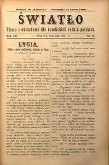 Światło, 1900, R. 14, nr29