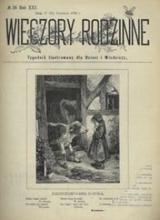 Wieczory Rodzinne. Tygodnik Ilustrowany dla Dzieci i Młodzieży 1900, nr 26