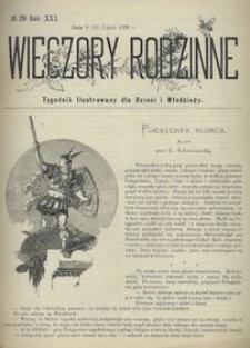 Wieczory Rodzinne. Tygodnik Ilustrowany dla Dzieci i Młodzieży 1900, nr 29