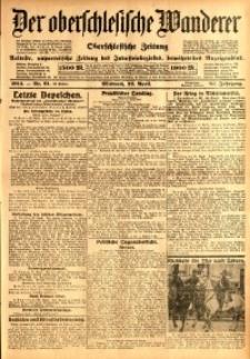 Der Oberschlesische Wanderer, 1914, Jg. 87, nr91
