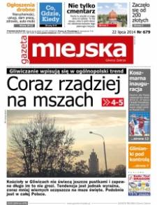 Gazeta Miejska Gliwice Zabrze, 2014, nr 679