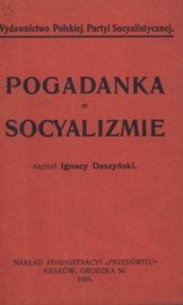 Pogadanka o socyalizmie