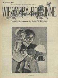 Wieczory Rodzinne. Tygodnik Ilustrowany dla Dzieci i Młodzieży 1900, nr 40
