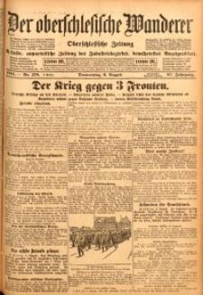 Der Oberschlesische Wanderer, 1914, Jg. 87, nr178