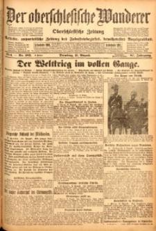 Der Oberschlesische Wanderer, 1914, Jg. 87, nr182
