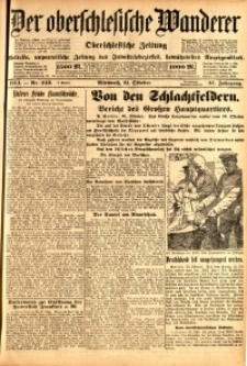 Der Oberschlesische Wanderer, 1914, Jg. 87, nr243