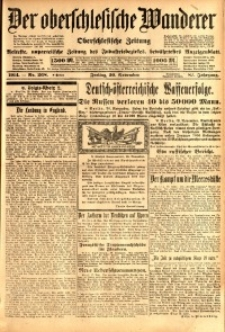 Der Oberschlesische Wanderer, 1914, Jg. 87, nr268