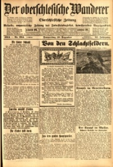 Der Oberschlesische Wanderer, 1914, Jg. 87, nr284
