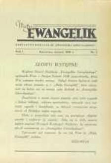 Mały Ewangelik, 1938, R. 1, nr 1