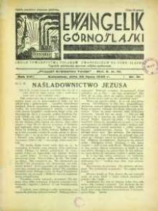 Ewangelik Górnośląski, 1939, R. 8, nr 31