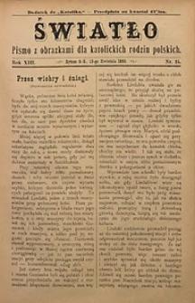 Światło, 1899, R. 13, nr15