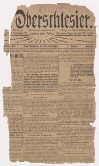 Der Oberschlesier, 1919, Jg. 1, Nr. 1
