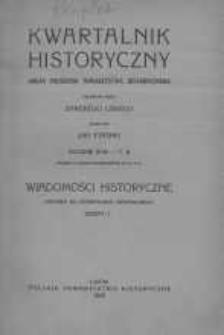 Wiadomości Historyczne 1929