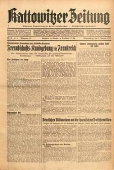 Kattowitzer Zeitung, 1937, Jg. 69, nr4