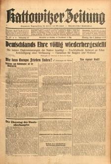 Kattowitzer Zeitung, 1937, Jg. 69, nr25