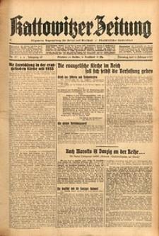 Kattowitzer Zeitung, 1937, Jg. 69, nr37