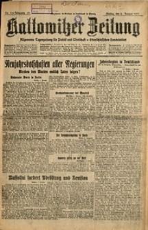 Kattowitzer Zeitung, 1931, Jg. 63, nr1