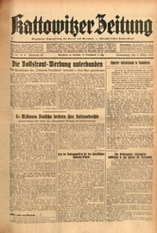 Kattowitzer Zeitung, 1937, Jg. 69, nr51