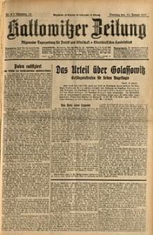 Kattowitzer Zeitung, 1931, Jg. 63, nr9