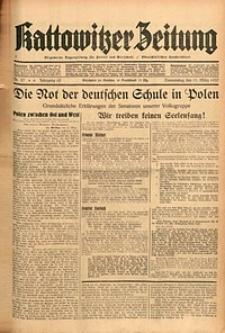 Kattowitzer Zeitung, 1937, Jg. 69, nr57
