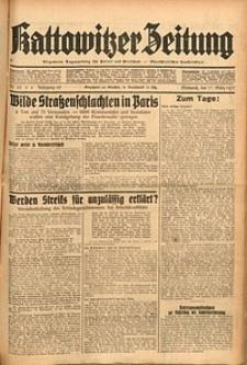 Kattowitzer Zeitung, 1937, Jg. 69, nr62