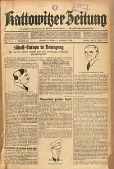 Kattowitzer Zeitung, 1937, Jg. 69, nr75