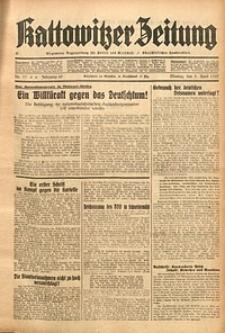 Kattowitzer Zeitung, 1937, Jg. 69, nr77