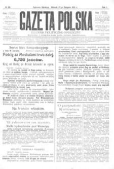 Gazeta Polska. Dziennik Polityczno-Społeczny 1915, nr 66