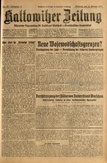 Kattowitzer Zeitung, 1931, Jg. 63, nr39