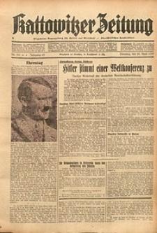 Kattowitzer Zeitung, 1937, Jg. 69, nr90