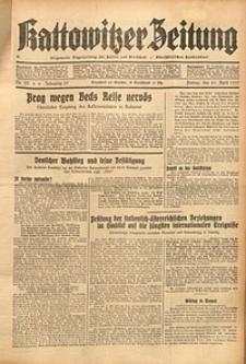 Kattowitzer Zeitung, 1937, Jg. 69, nr93
