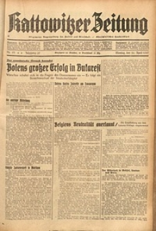 Kattowitzer Zeitung, 1937, Jg. 69, nr95