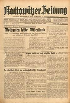 Kattowitzer Zeitung, 1937, Jg. 69, nr99