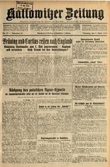 Kattowitzer Zeitung, 1931, Jg. 63, nr79