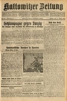 Kattowitzer Zeitung, 1931, Jg. 63, nr88