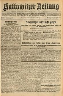 Kattowitzer Zeitung, 1931, Jg. 63, nr90