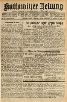 Kattowitzer Zeitung, 1931, Jg. 63, nr95