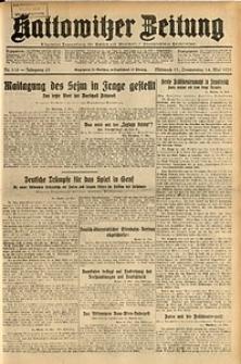 Kattowitzer Zeitung, 1931, Jg. 63, nr110