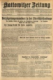 Kattowitzer Zeitung, 1931, Jg. 63, nr115