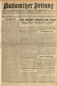 Kattowitzer Zeitung, 1931, Jg. 63, nr118