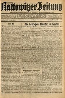 Kattowitzer Zeitung, 1931, Jg. 63, nr128