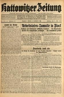 Kattowitzer Zeitung, 1931, Jg. 63, nr150