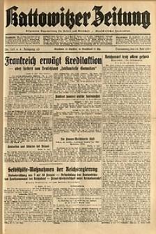 Kattowitzer Zeitung, 1931, Jg. 63, nr161