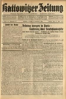 Kattowitzer Zeitung, 1931, Jg. 63, nr162