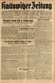 Kattowitzer Zeitung, 1931, Jg. 63, nr172