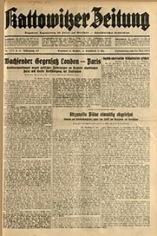 Kattowitzer Zeitung, 1931, Jg. 63, nr173