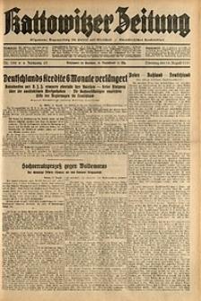 Kattowitzer Zeitung, 1931, Jg. 63, nr188